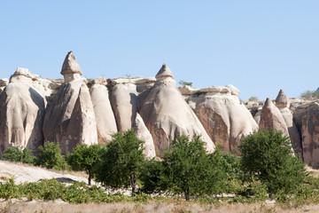 Felsformation in Göreme; Türkei