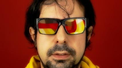 Hypnotech glasses disco floor