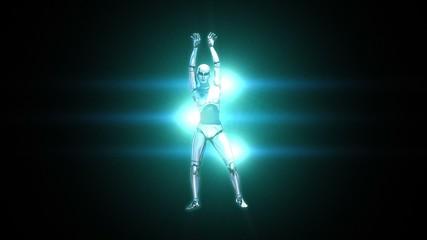 Dancing Robot Girl