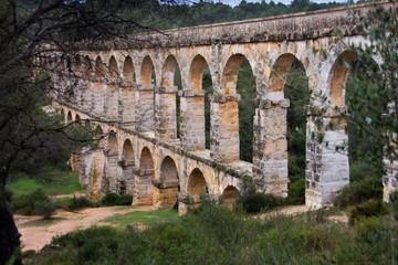 Pont del Diable of Roman Aqueduct, Tarragona, Spain