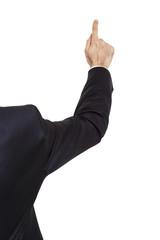 parmak ile göstermek