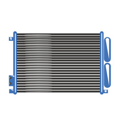 Condensatore radiatore automobile