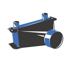 Convogliatore aria radiatore automobile