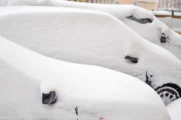 wintereinbruch, schnee