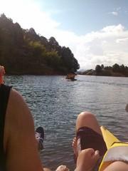 Navegando en el Peñol