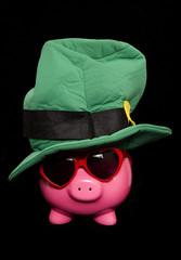 st patricks day piggy bank