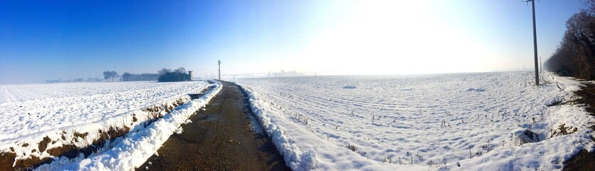 panorama and snow