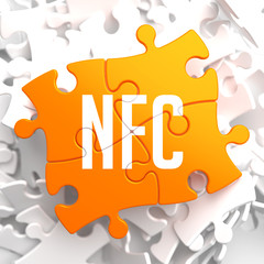 NFC on Yellow Puzzle.