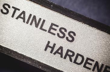 Stainless Hardened