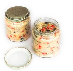canned salad olivie