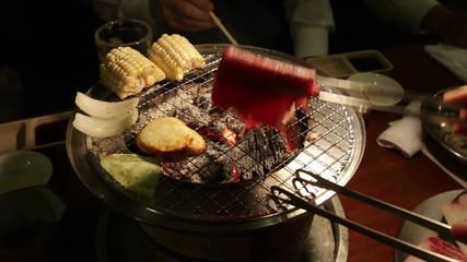 Yakiniku Japanese style of grilled meat