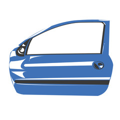 Portiera automobile