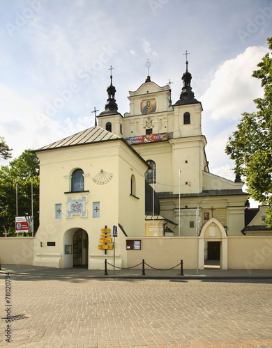 Church of St. John the Baptist in Janow Lubelski. Poland - 78020794