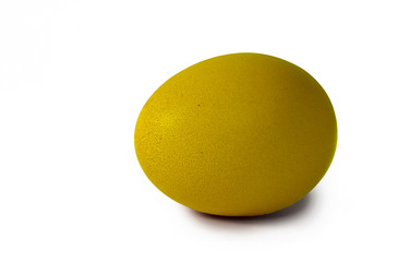 Yellow Easter egg