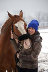 Cavallo nella neve 2