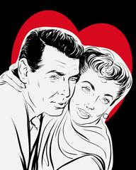 couple romance saint valentin