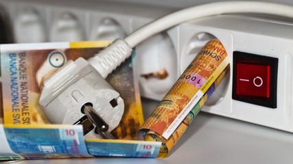 Anstieg der Energiekosten in der Schweiz - Strom ist Luxus