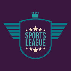 Sports design, vector illustration.