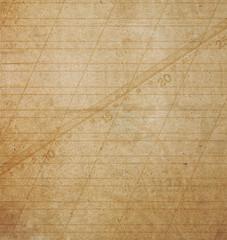 Old grunge crumpled cardboard sheet of paper for design