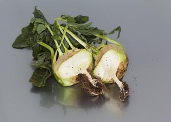 Raw food diet concept