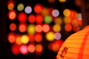 Colorful Chinese lantern
