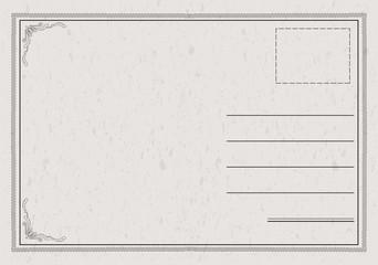 Classic Postcard Vector