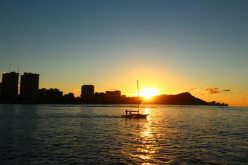 Morning Cruise, Ala Moana, Oahu, Hawaii