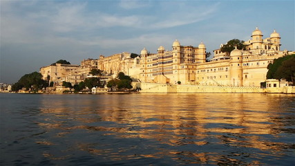 View of the Palace in Udaipur