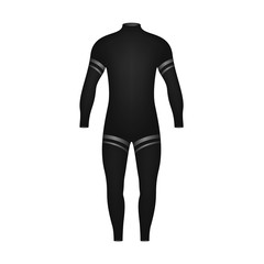 Diving suit in black design