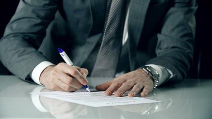 Unilateral Contract Signature