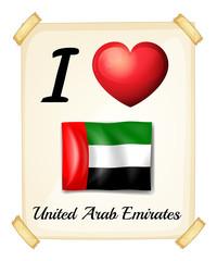 I love United Arab Emirates
