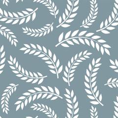 Wheat vector pattern.