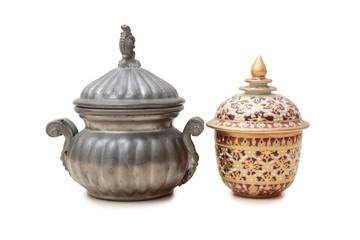 Metal pots