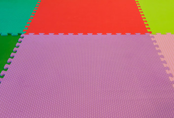 rubber foam for baby play in playroom