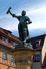 Statue Lazare de Schwendi Colmar