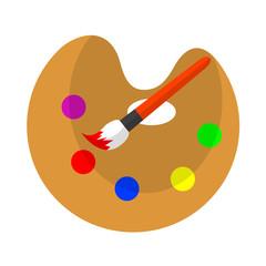 Icono paleta de colores