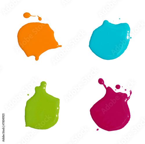 Papiers peints Forme paint