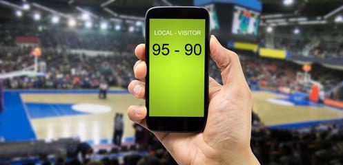 betting on basketball arena