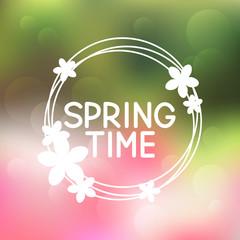 Spring background for Your design