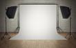 Leinwanddruck Bild - Photo studio equipment