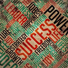 Success - Grunge Word Collage.