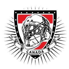 ice hockey helmet shield canada