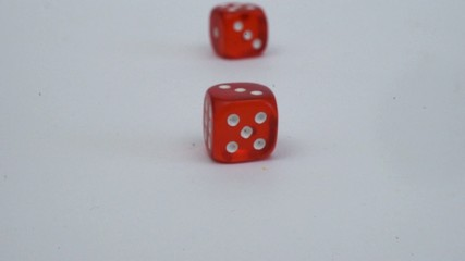 dice game red dice on the roll