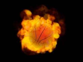 炎のバスケットボール