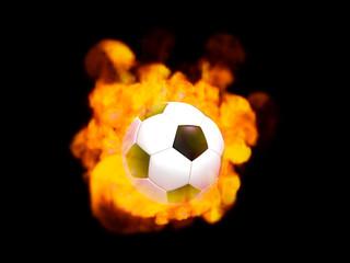 炎のサッカーボール