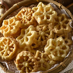 Galician carnival pastry