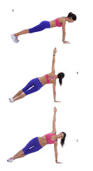 Rotating plank