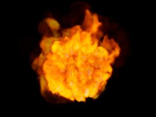火球・黒バック