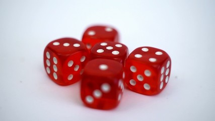 winning combination 1 2 3 4 5 win game red dice on the roll