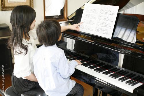 ピアノレッスン - 78046532